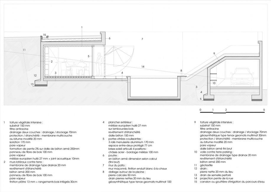 Casa diaz habitat j r mie koempgen architecture for Piscine a debordement detail