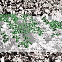 [2] Structures gonflables réactives et lumineuses — Jeux olympiques d'Athènes — Installation temporaire — Ferpect: J.Koempgen + F.Biais