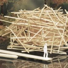 [11] Abris flottant, guidé - Projet Habitat-nature, Eco-Lodge - Collectif Ferpect