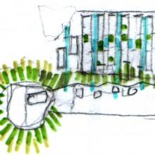 [2] Biocorridor - Arborescence d'espaces verts le long des voies d'eau.