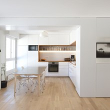 Cuisine white & wood